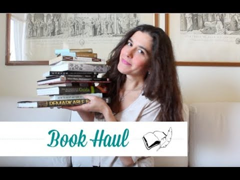 BOOK HAUL   tanti libri dagli Stati Uniti