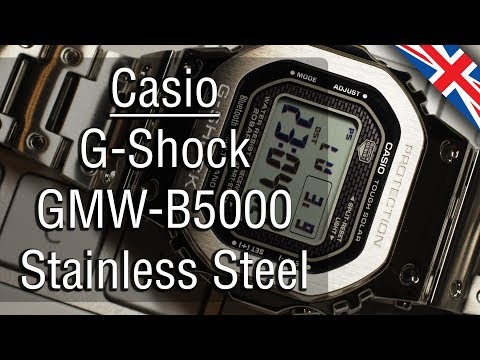 Casio G-Shock GMW-B5000 Review, The King Of Square Design (English Version)