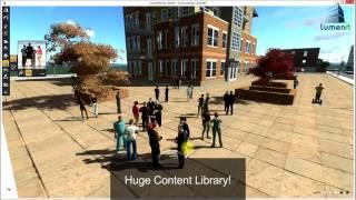 Bentley LumenRT虛擬建築工程動畫軟體