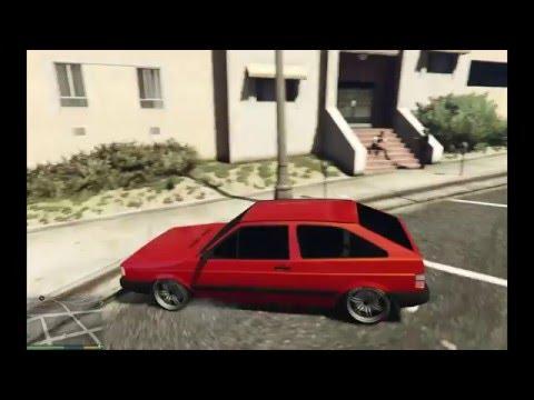 Mod GTA 5 - Gol Quadrado GL 1.8 Turbo