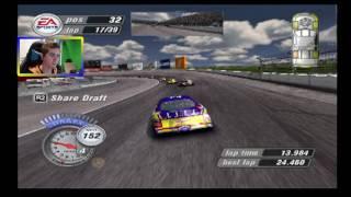 kurt busch is mad north carolina   nascar thunder 2004 career mode race 2 36