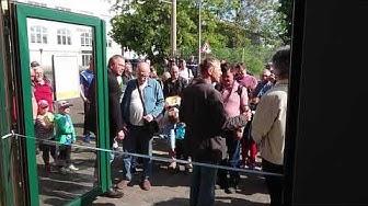 Feierliche Eröffnung des Straßenbahnmuseums Leipzig – 19.5.2019 10:00 MESZ