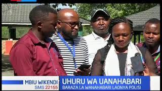 Baraza la wanahabari laonya polisi dhidi ya kutoa vitisho kwa wanahabari | Mbiu ya KTN
