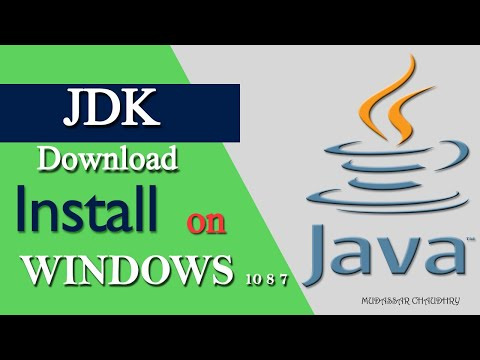 JDK Java | How To Download JDK And Install 2019