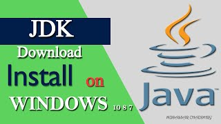 Gambar cover JDK Java | How to Download JDK and Install 2019