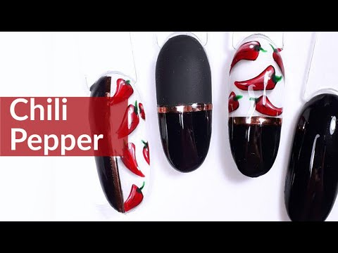 Chili Pepper Nail Art Tutorial thumbnail