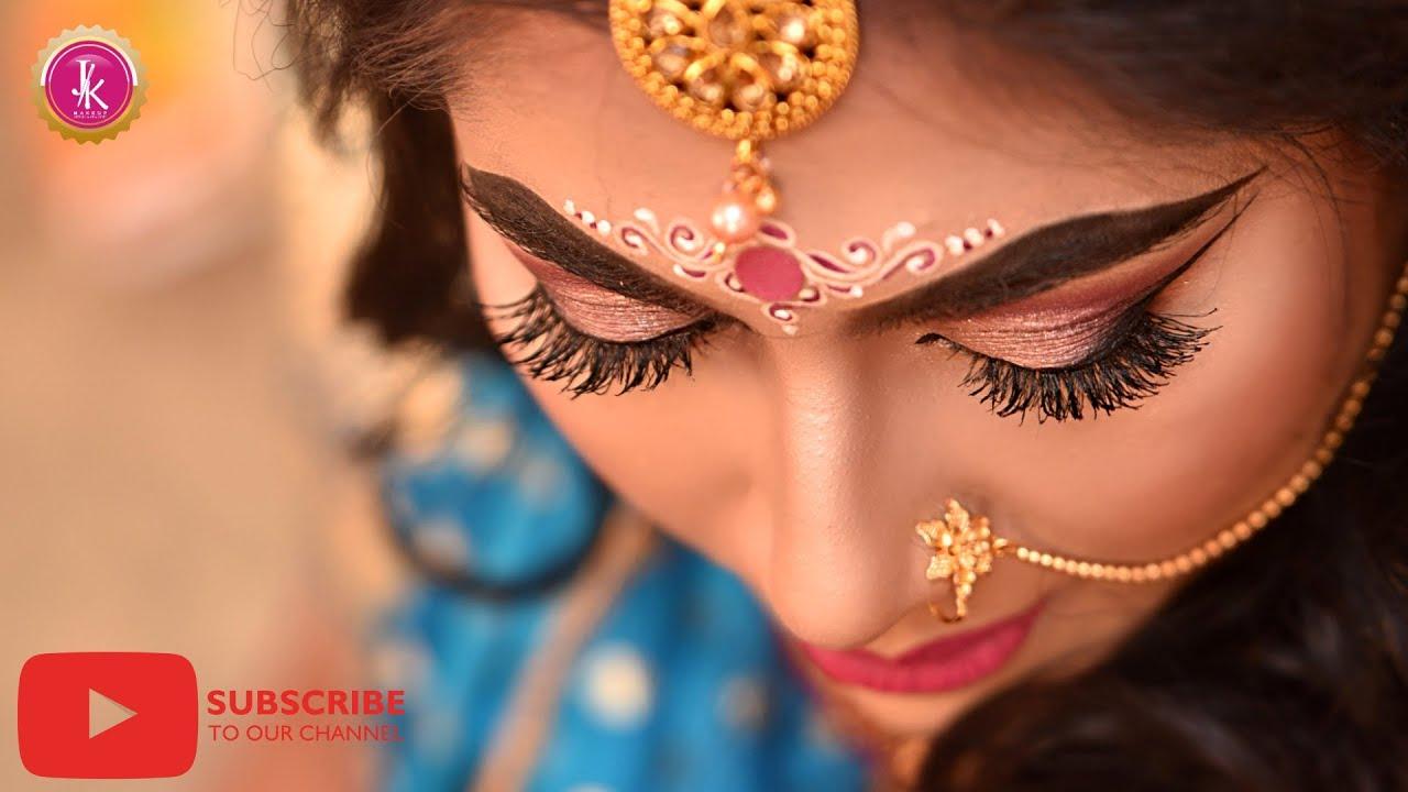 INDIAN BRIDAL MAKEUP    RECEPTION MAKEUP    STEP BY STEP MAKEUP TUTORIAL    HD BRIDAL MAKEUP