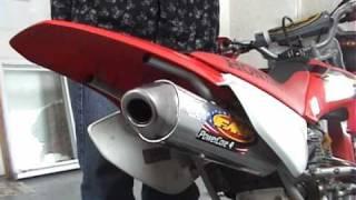 HONDA XR80R 2003 with FMF
