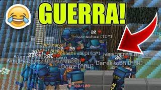 RUSHAMOS EM GERAL E VENCEMOS A GUERRA NOVAMENTE! - Factions Empire #24