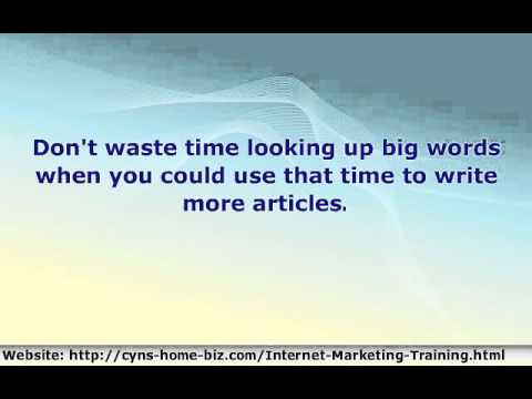 Easy 7 Step Format Of Article Writing