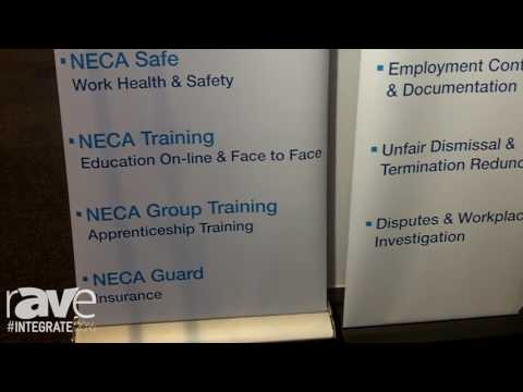 Integrate 2016: NECA Explains Its Association and Offerings for AV Contractors