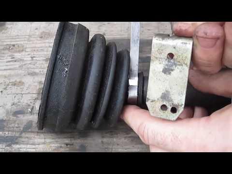 Как затянуть ленточный хомут на шрусе без специнструмента