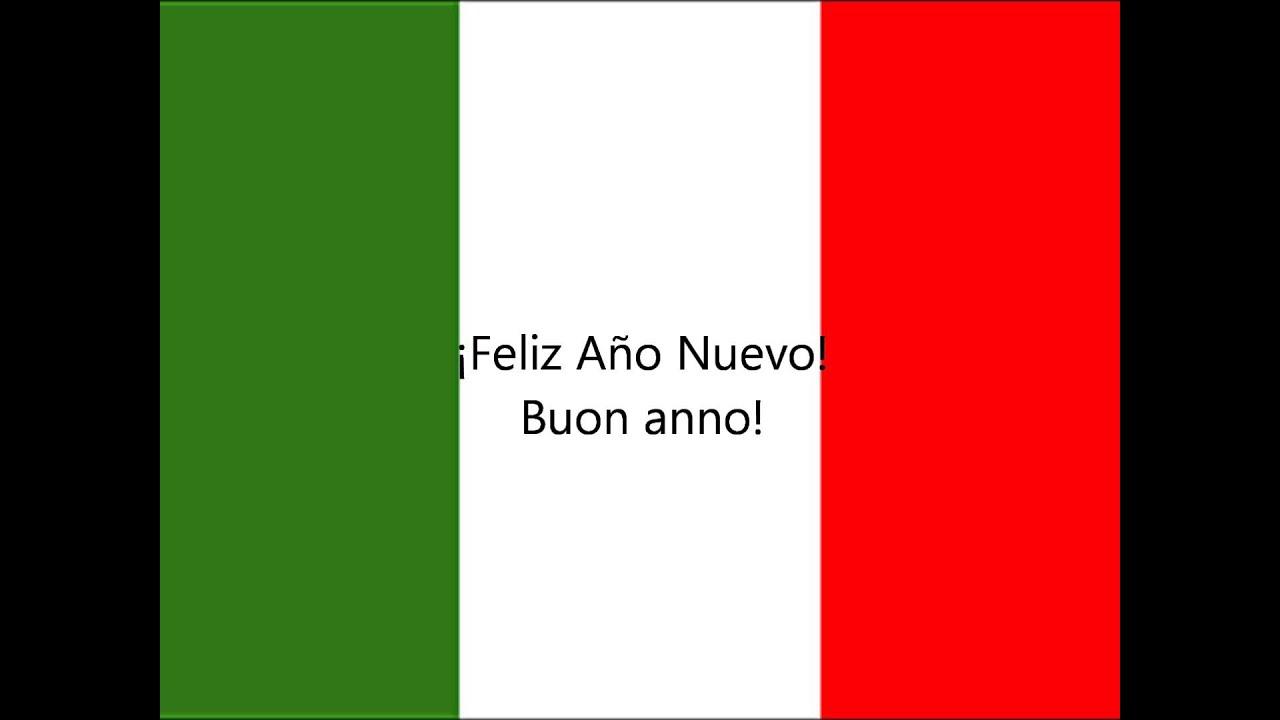 Aprender Italiano Cómo Decir Feliz Navidad Y Feliz Año Nuevo Youtube