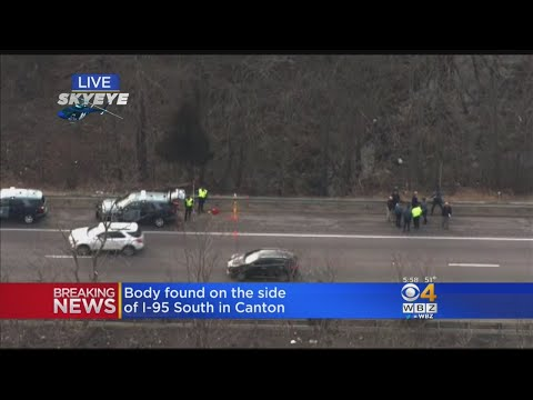 Body Found On Side Of I-95 In Canton