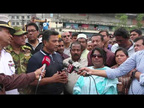 Re-Eviction Drive of DNCC to Recovered Karwan Bazar