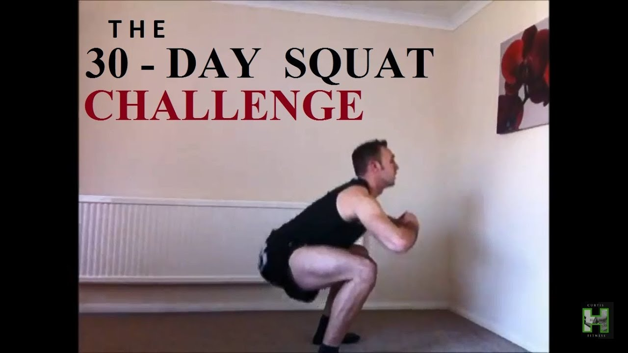 Squats Before And After 30 DAY SQUAT CHALLENGE