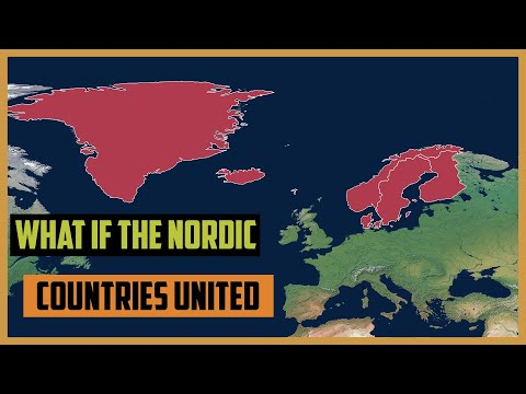 What if The Nordic Countries United into One Country