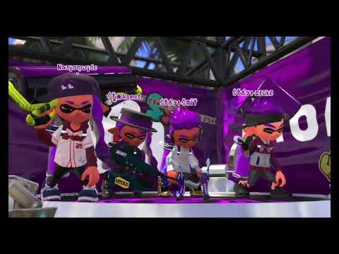 [Splatoon 2] [The Intertidal Zone] Squid Terrorists vs Squid Fam
