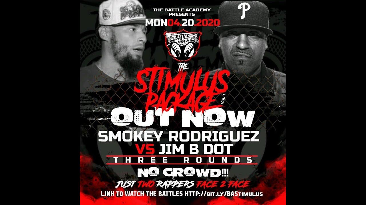 JIM B DOT VS SMOKEY RODRIGUEZ (BATTLE)