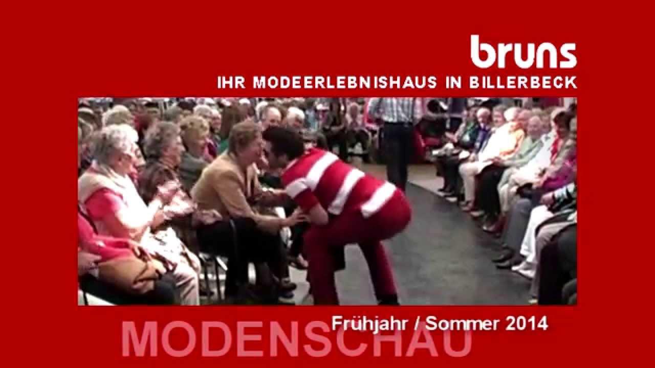 Frühjahr / Sommer-Modenschau 2014 - Modehaus Bruns