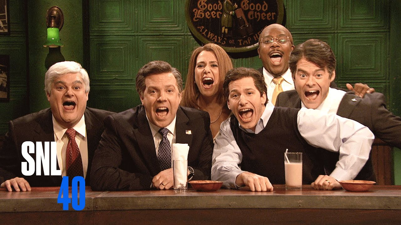 """7. """"Saturday Night Live. It's horribly unfunny 90% of the time."""" —u/Viiibrations"""