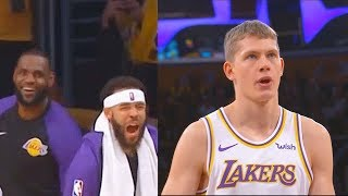 LeBron James Gets Shown How To Shoot A Free Throws By Rookie Mo Wagner (Parody)