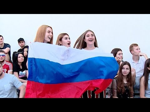 Кубань отмечает первую победу России на чемпионате мира по футболу