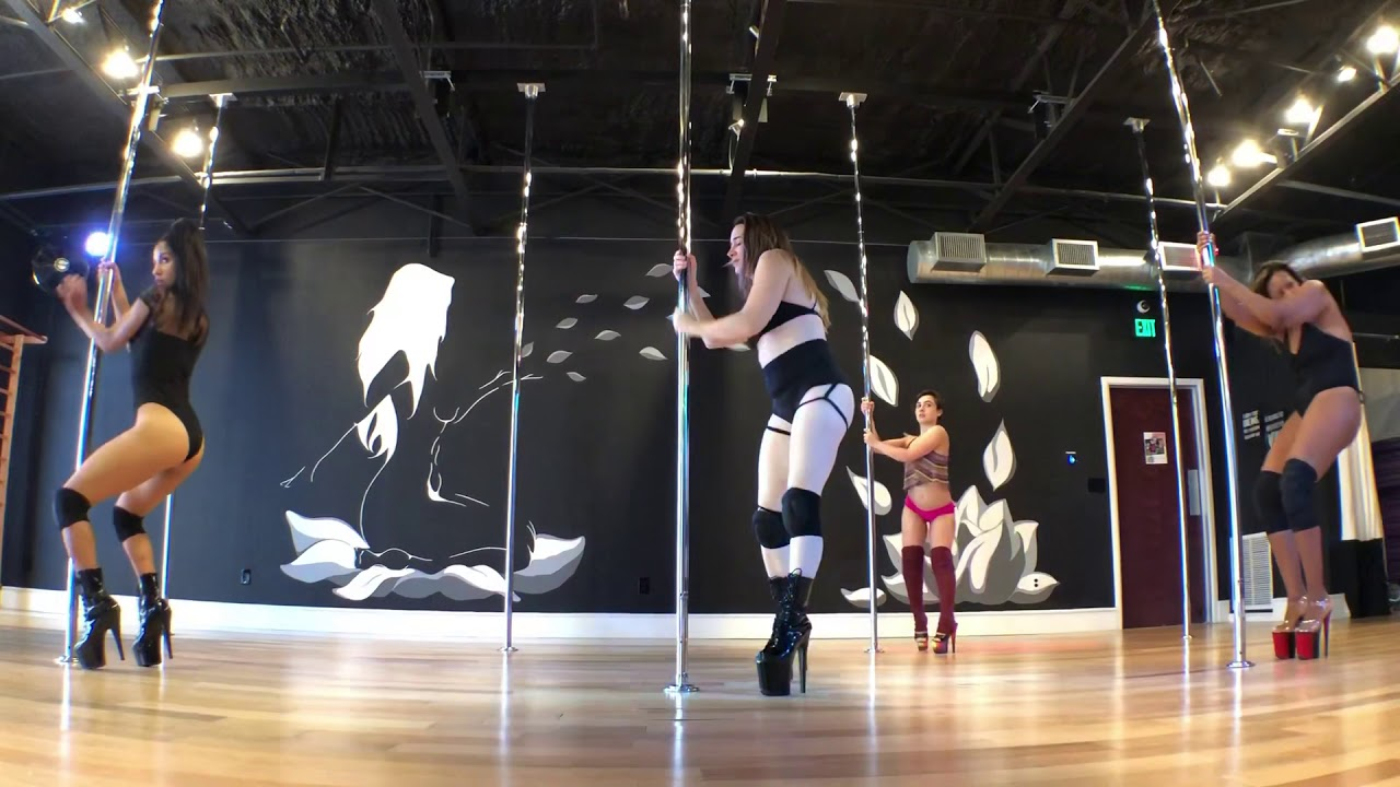 Sexy Pole Dance - Break Up With Your Girlfriend - YouTube