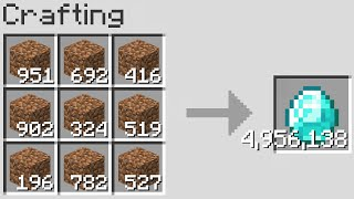 Minecraft But Crafting Is Random And Multiplied