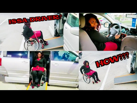 How I drive + My Wheelchair Accesible Car | TheDIYLady