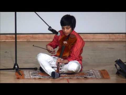 Poosindi Poosindi Punnaga on Violin - Telugu Montreal Ugadi 2016