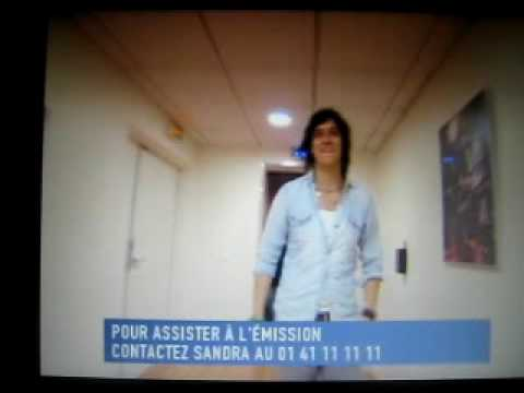 Julian Casablancas- le grand journal backstage