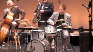 This is the famous song Caravan that so many jazz drummers have don...