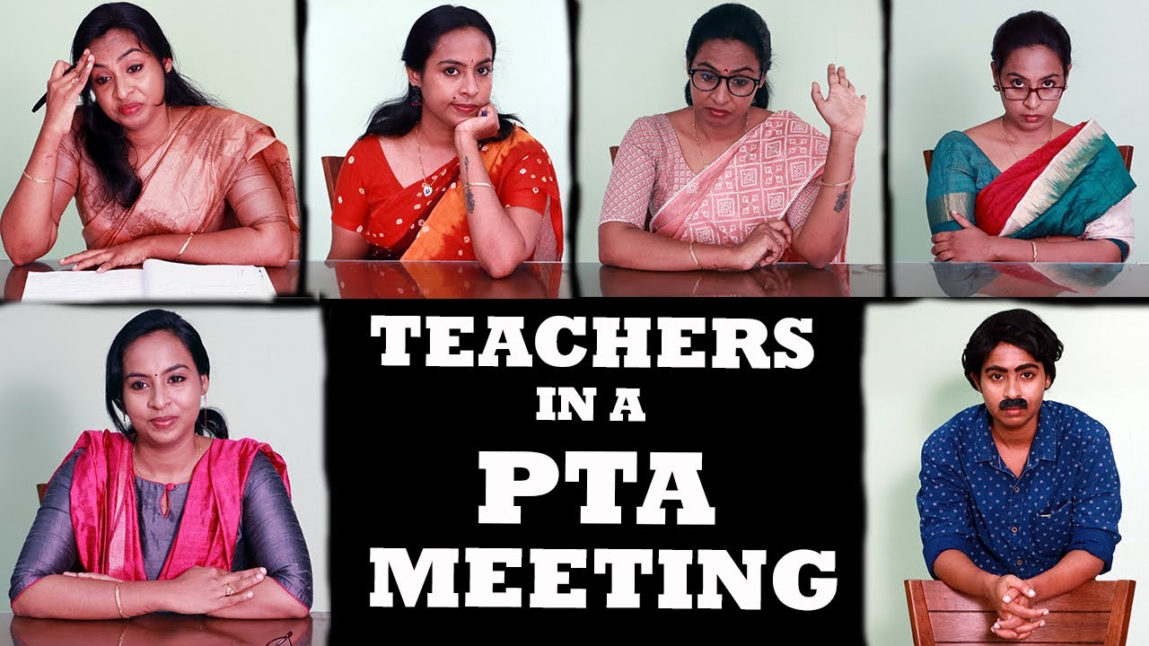 Teachers In A PTA Meeting | Parent Teachers Meeting | Simply Silly Things