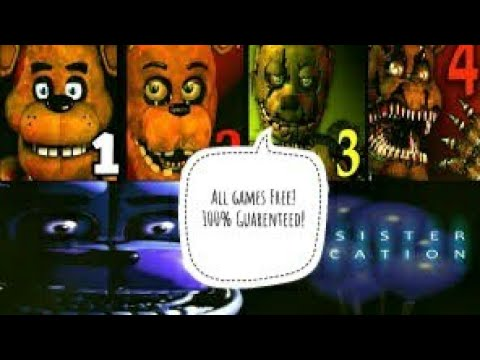 How to Get All FNaF games free! (PC) Working 2019! *No Clickbait*