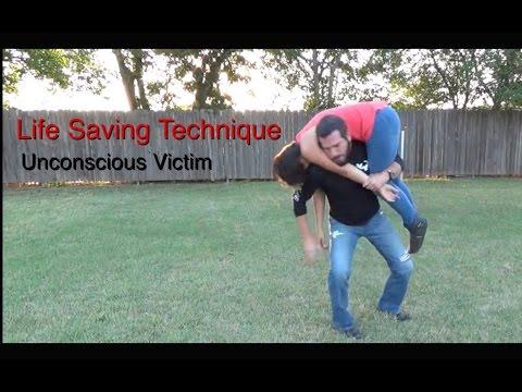 Life Saving Technique | The Fireman's Carry.