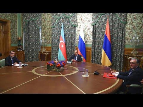 Баку и Ереван договорились о прекращении огня в Нагорном Карабахе…