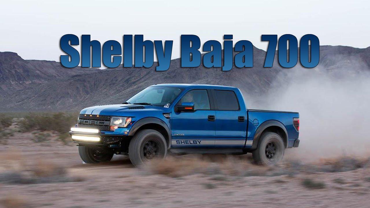 Ford Raptor Shelby Baja 700 >> 2015 Shelby Baja 700 – former Ford F-150 SVT Raptor - YouTube