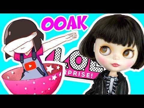 Реакция куклы на ООАК от Пресциллы - Машка Убивашка из ЛОЛ