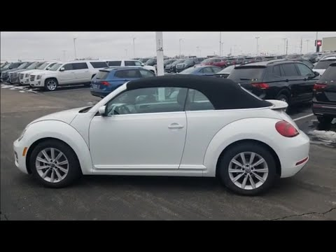 2019 VW Beetle 2.0T Convertible SE ****DISCONTINUED AFTER 2019 MODEL YEAR****