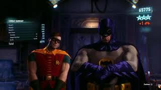 Batman: Arkham Knight goofing off in AR challenges
