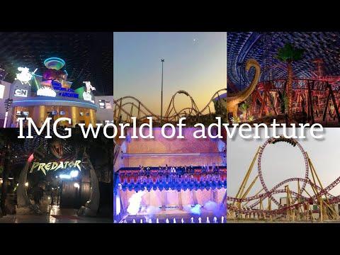 IMG world of adventure| Largest indoor theme park in Dubai |rasmi's world