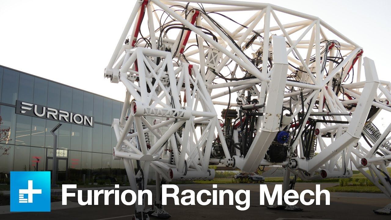 Furrion Racing Mech – The world's first exo-bionic racing Mech