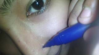how to nose piercing with gun short at tulip parlour // nose piercing for the fast time
