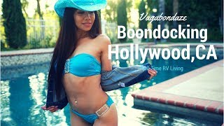 Boondocking in Hollywood CA - Full Time RV Living