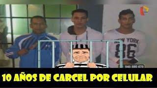 venezolanos son condenados a 10 de cárcel por robar celular en peru/ VENEZOLANOS EN PERU