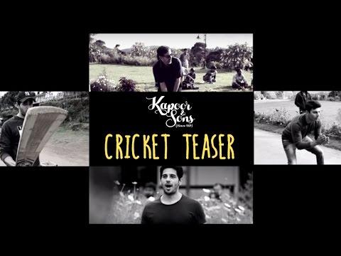 Sidharth Malhotra & Fawad Khan Play Cricket - Teaser