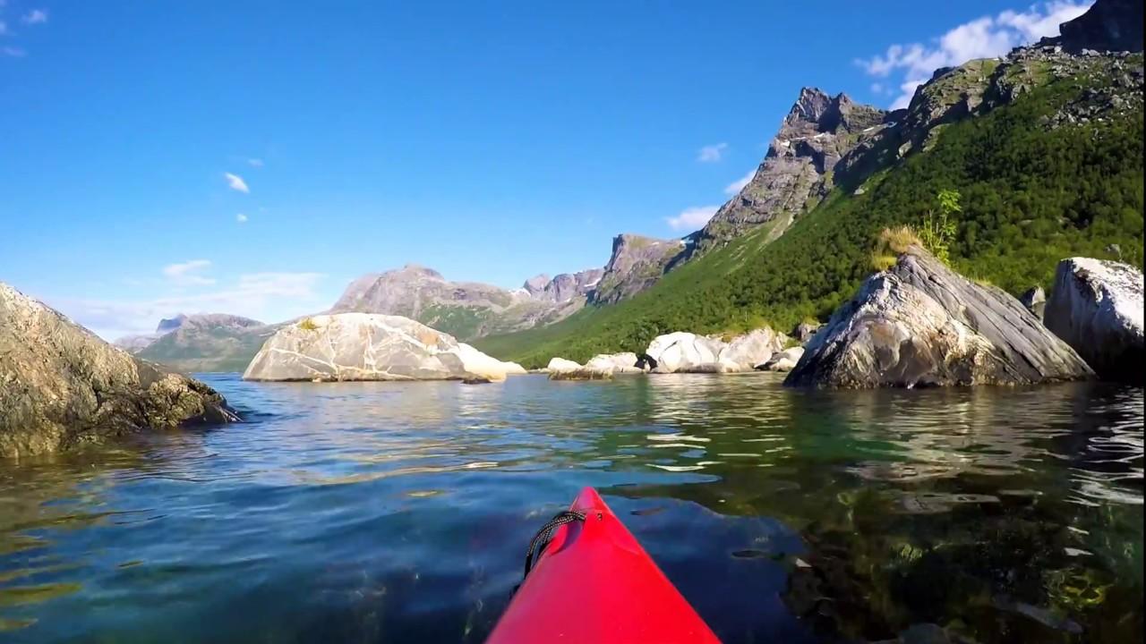 Kayaking Nevelsfjorden on Kjerringøy