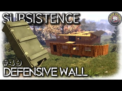 Subsistence | Defensive Wall + 2x Locked Crates | EP49 | Let's Play Subsistence Gameplay (S6)