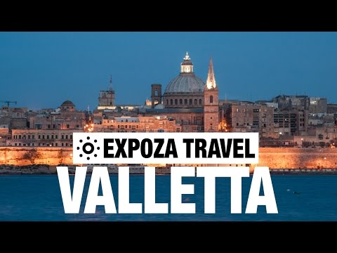 Valletta Vacation Travel Video Guide
